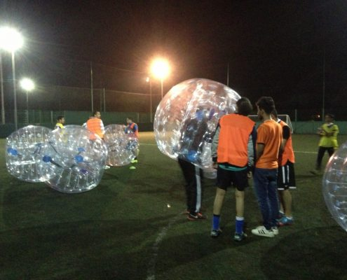 just for fun package for bubble football in Swansea